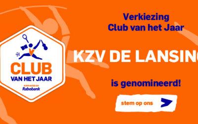 Genomineerd voor club van het jaar