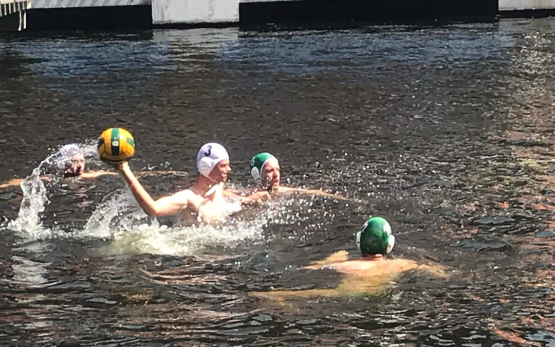 (Beach)Waterpolo in de Rijnhaven